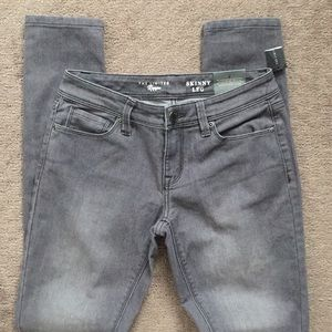 The Limited Denim Skinny Gray Jeans 4